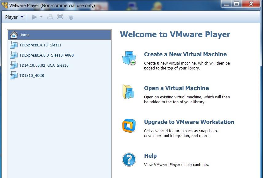 نرم افزار VMware Player 14.1