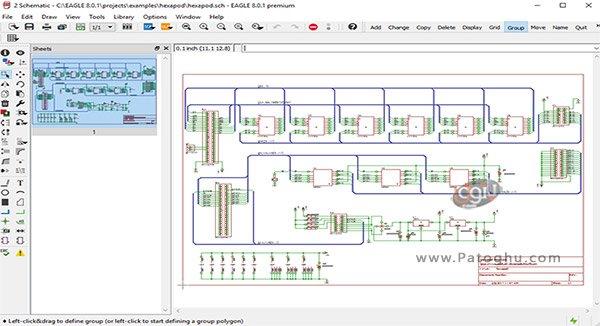 محیط نرم افزار Autodesk EAGLE Premium